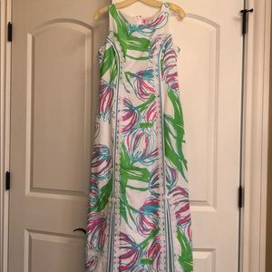 lilly pulitzer maxi dress with slits